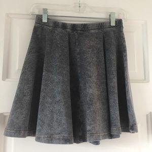 Topshop grey skater skirt